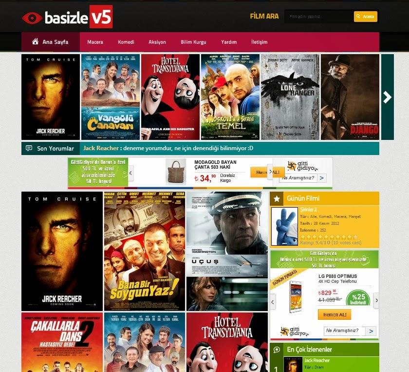 WordPress Basizle v5 Film Teması İndir