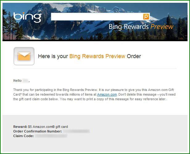 Bing Rewards is so fast... (Testimonial Kinda) | Free Cash ...