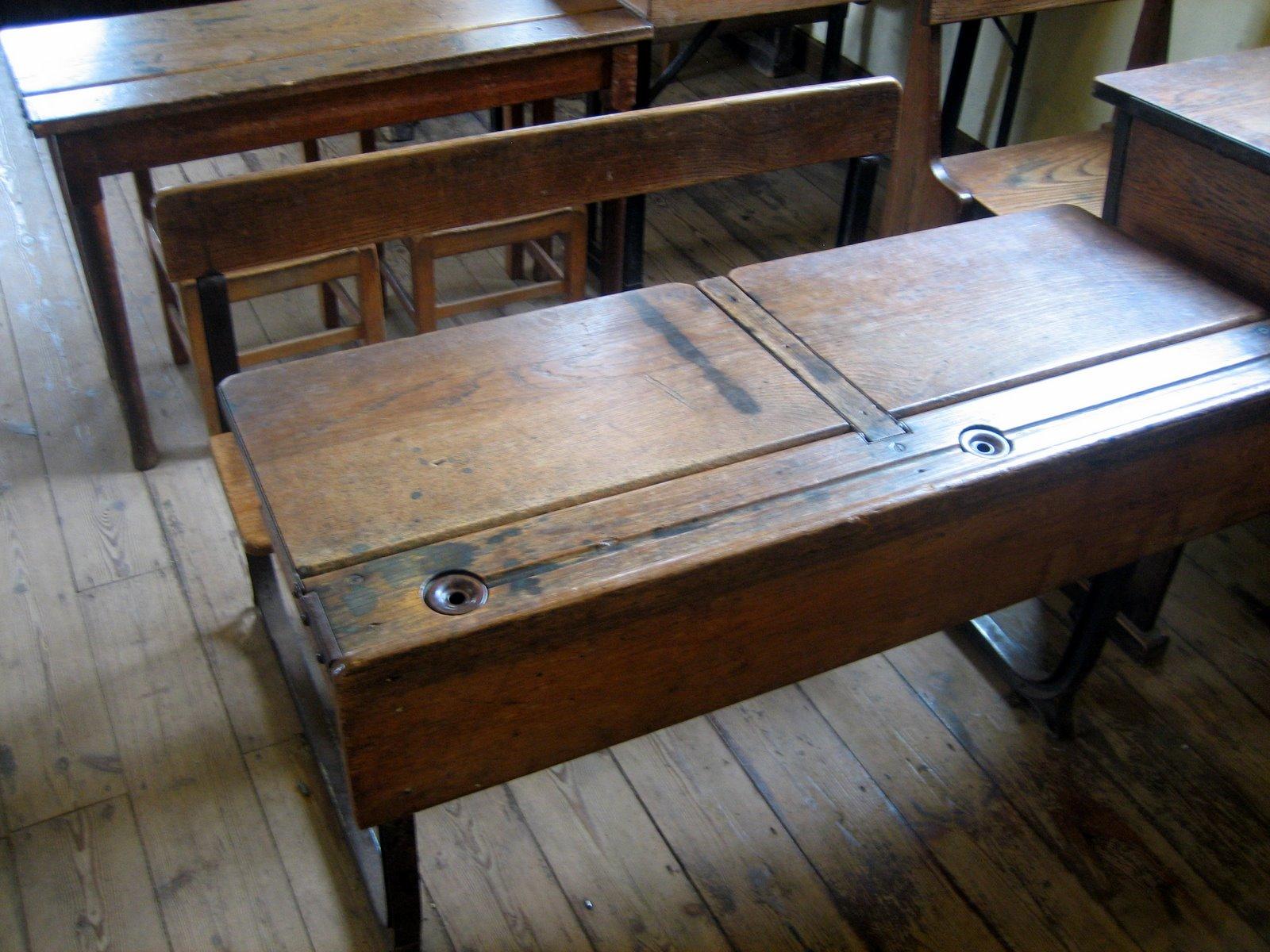 Rupert Mallin THE OLD SCHOOL DESK GRESSENHALL NORFOLK