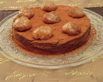 Gâteaux aux marrons et au chocolat sans gluten ni lactose