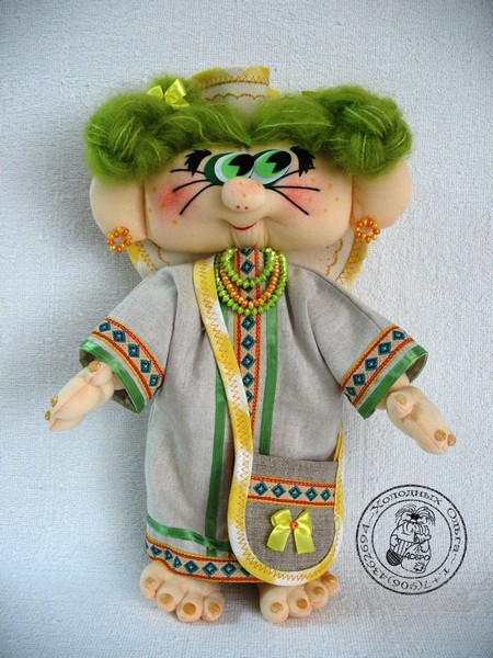 Кукла Травинка