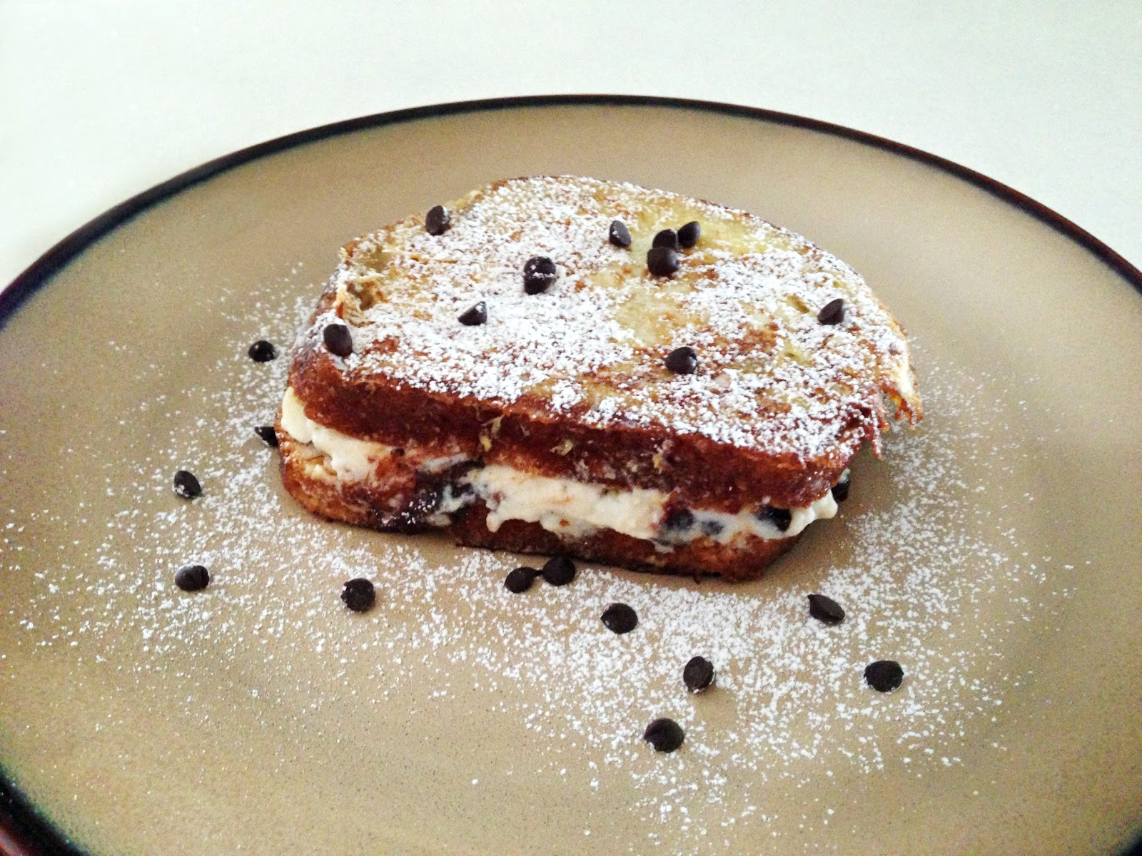 Buttercream Is Better: Cannoli Stuffed French Toast