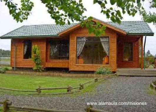 Arquitectura de casas construir casas de madera en argentina for Casas de jardin de madera baratas