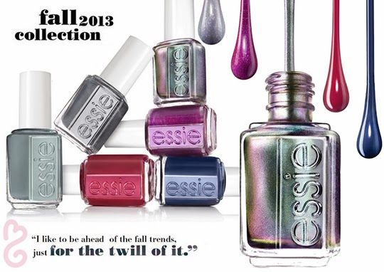 Colección de lacas de uñas de Essie
