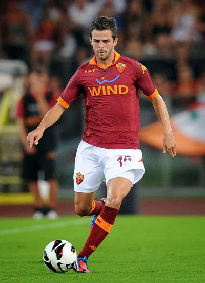 Miralem Pjanic AS Roma Transfer Manchester United 2014