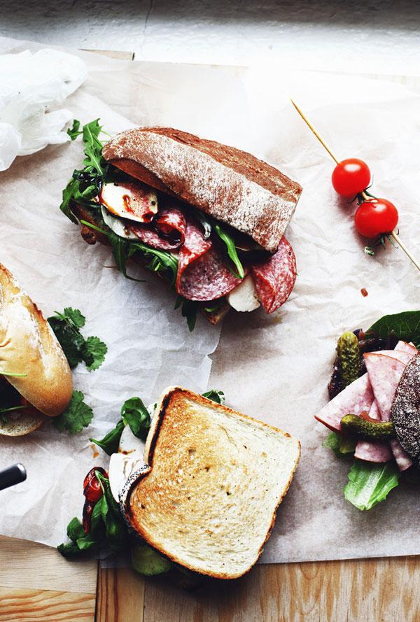 sandwich bocadillo rico