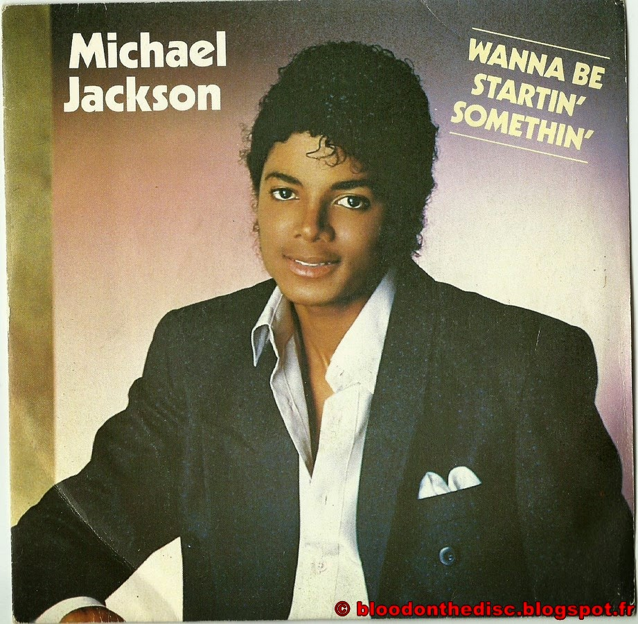 Wanna Be Startin Somethin 45T Front Cover