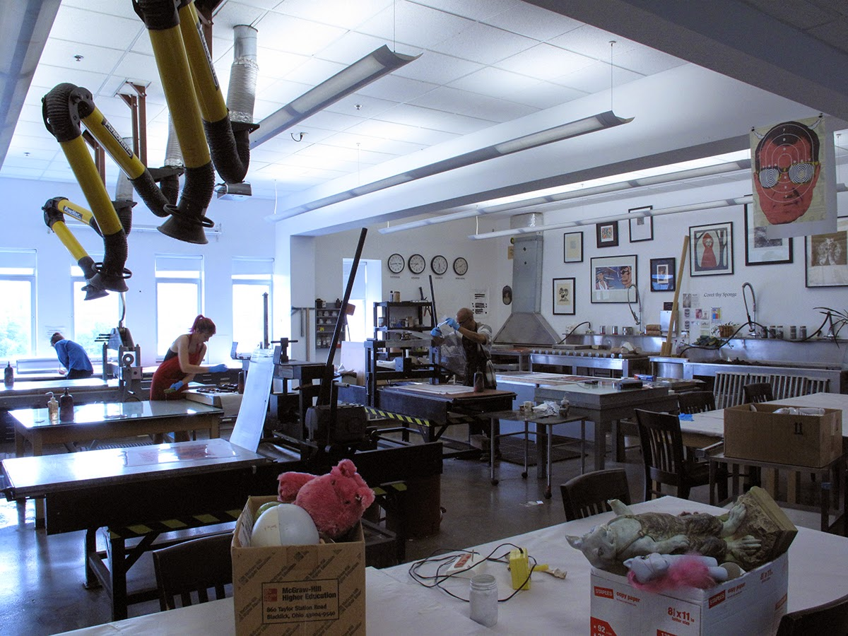 Printmaking Facilities SCAD Atlanta