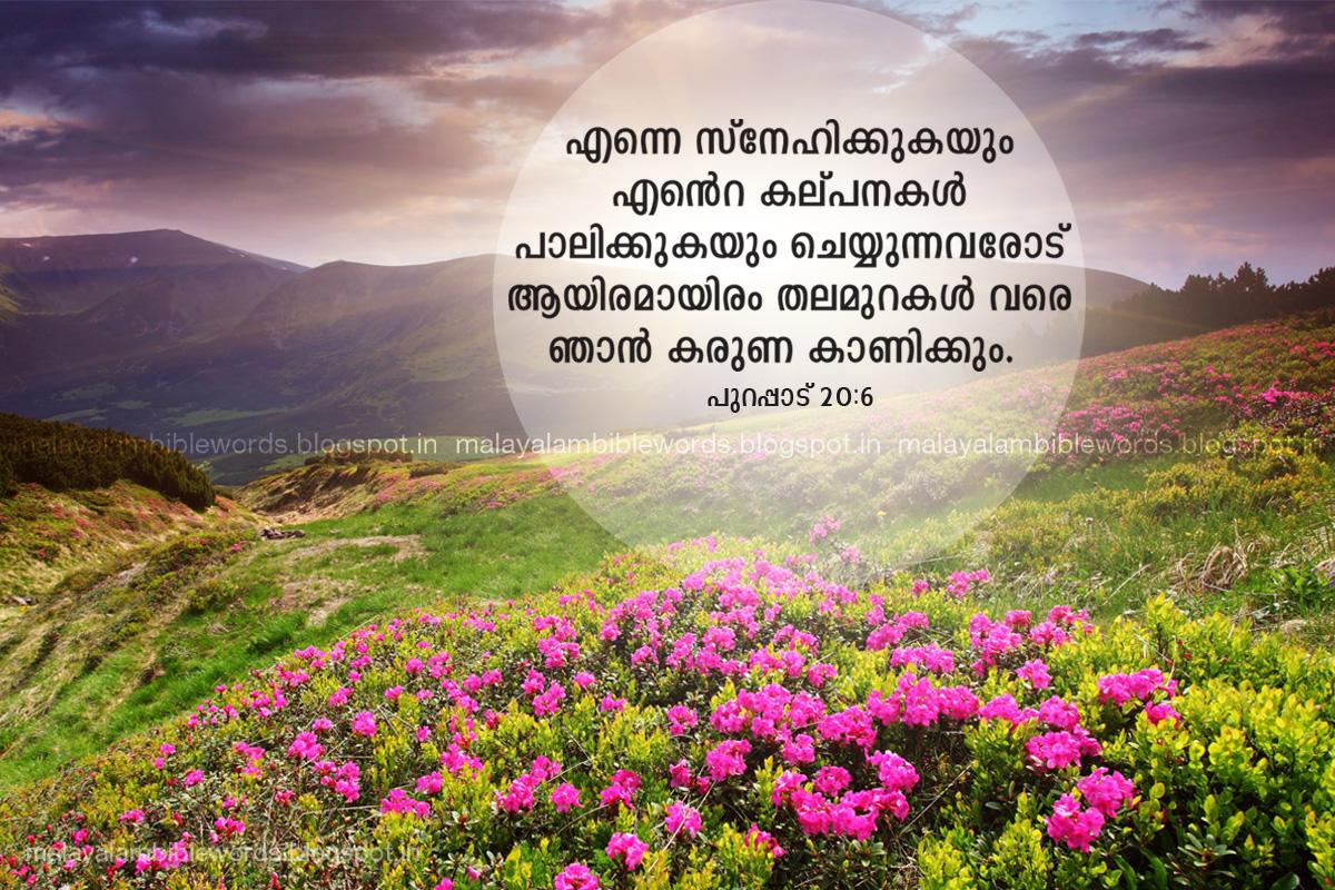 malayalam bible words: 2015