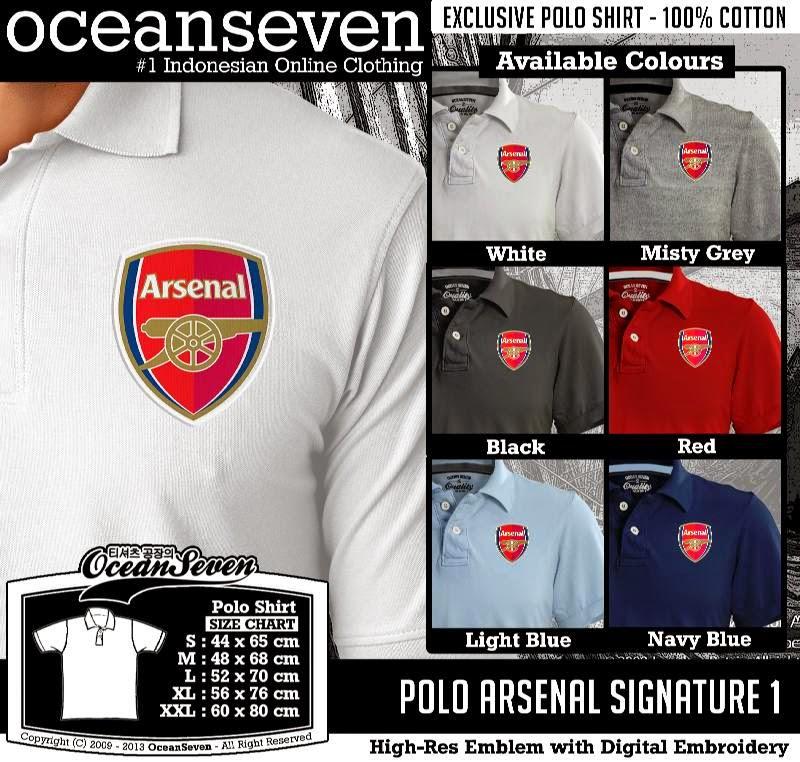 Kaos Polo Arsenal Signature 1