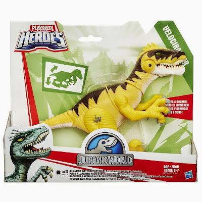 Comprar Amazon - JUGUETES - Playskool Heroes : Jurassic World  Velociraptor | Dinosaurio | Figura - Muñeco