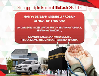 Triple Reward Agen SInergy Eco Racing