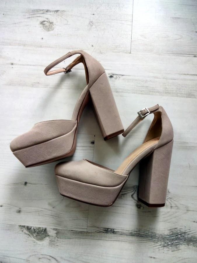 asos presley heels nude