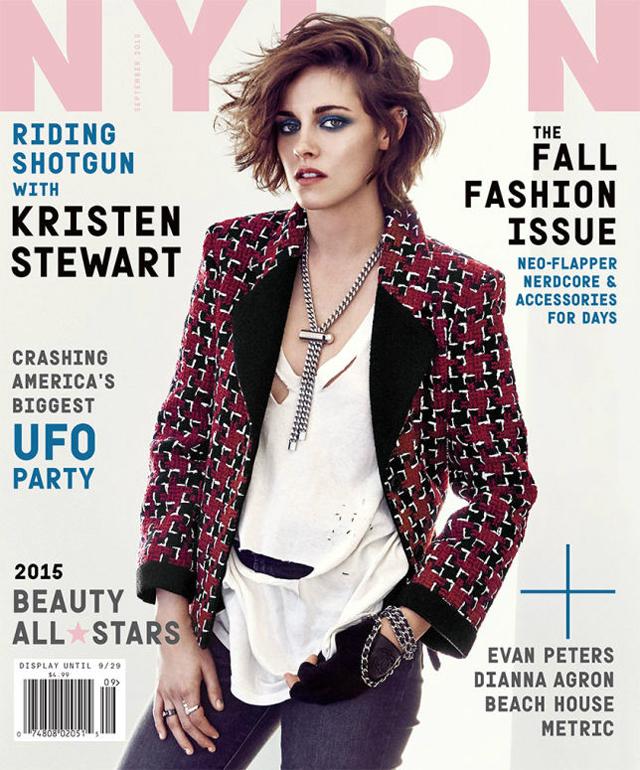 Kristen Stewart es portada Nylon Magazine