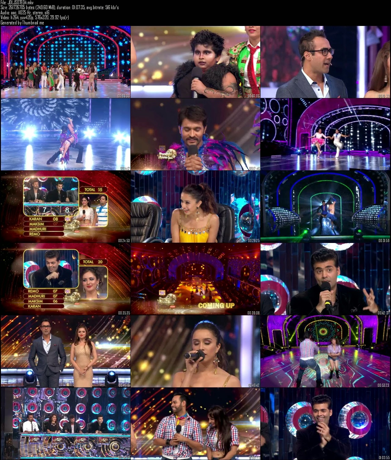 Resumable Mediafire Download Link For Hindi Show Jhalak Dikhla Jaa Season 7 (2014) 15th June 2014 Watch Online Download