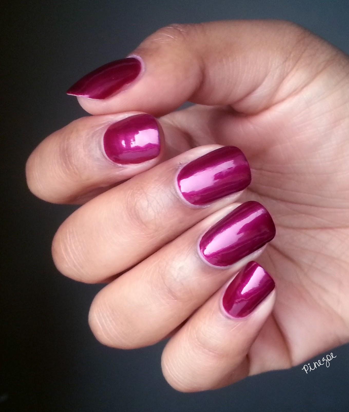 Kiko 495 - Pearly Vanda Burgundy