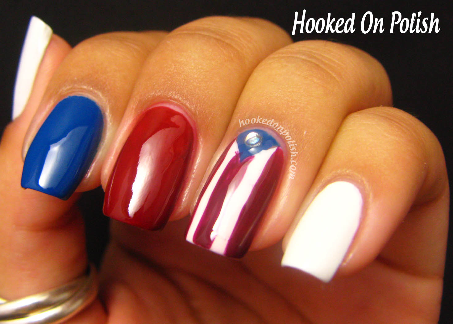 Puerto Rican Flag Nail Designs Best Nail Designs 2018