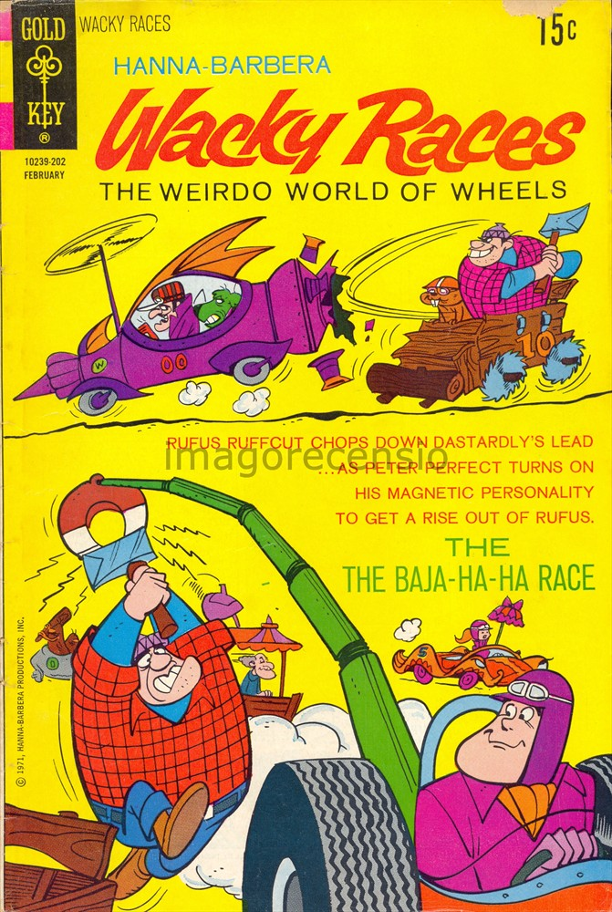 Imago recensio quot wacky races the weirdo world of wheels