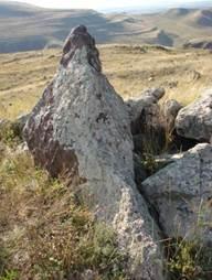 Стрелкой указан 200-й камень Карахунджа