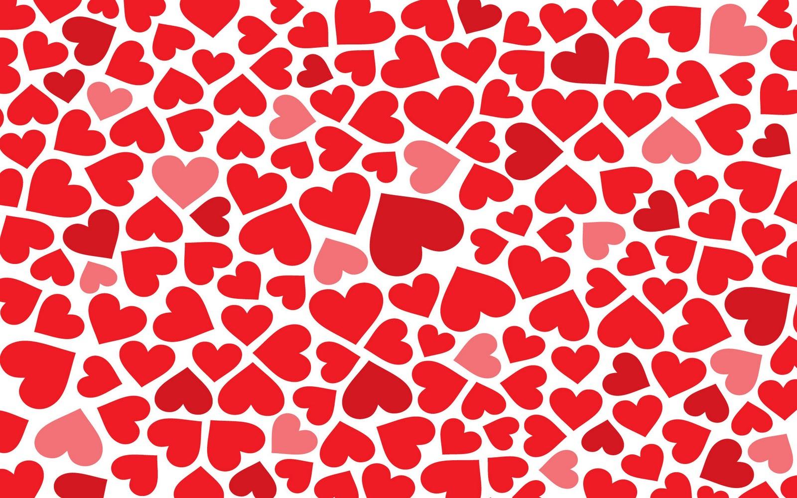 Met Hartjes Paarse Liefdes Afbeelding Met Hartjes En Abstracte Lijnen