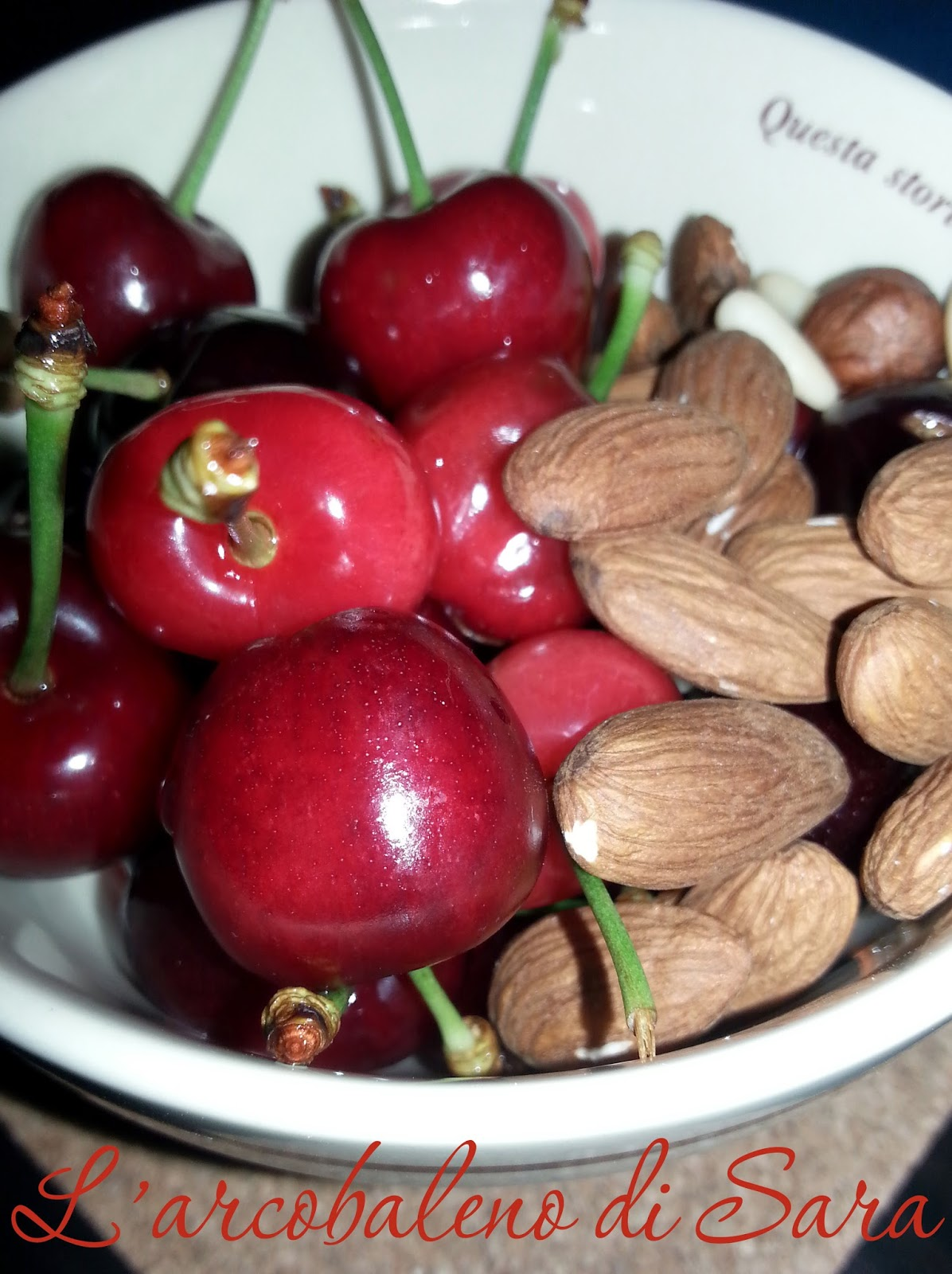 ciliegie e mandorle