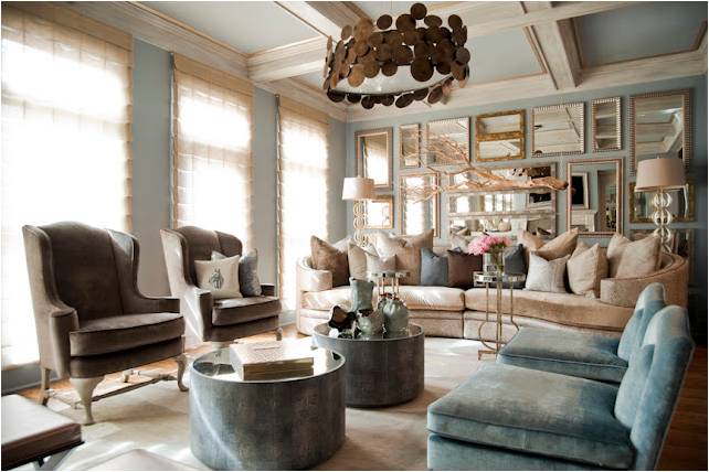 Key interiors by shinay celebrity life atlanta housewife for Living room atlanta