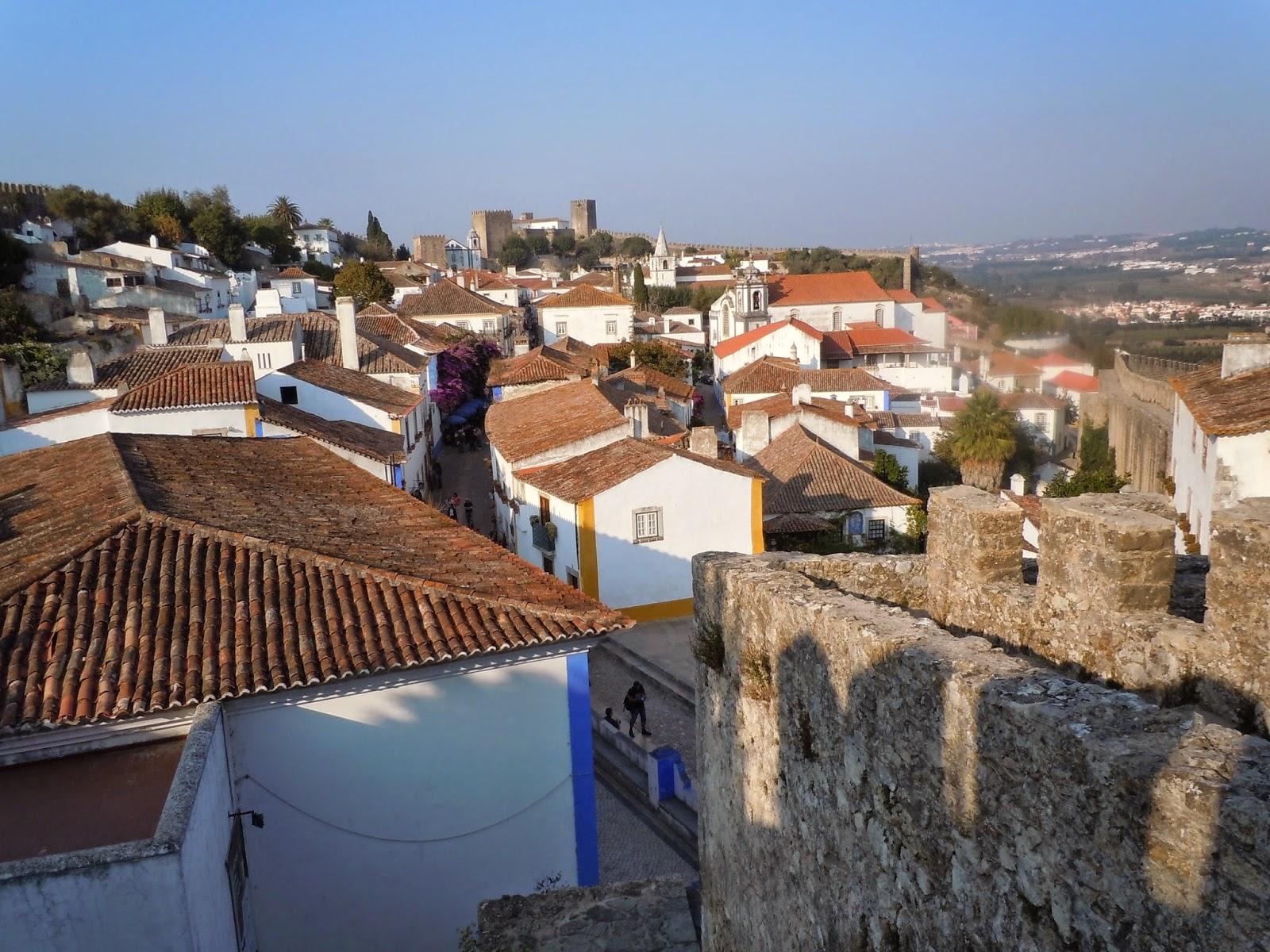 Óbidos vista da muralha
