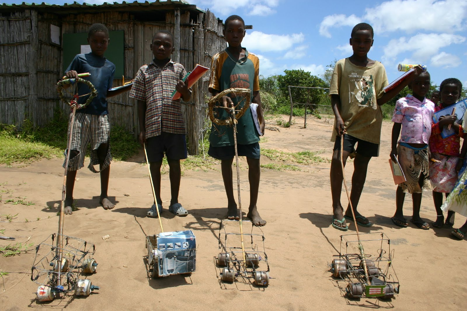 Toys From Africa : A little school in africa