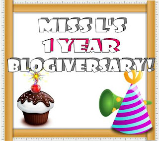 1 year of blogging, celebration