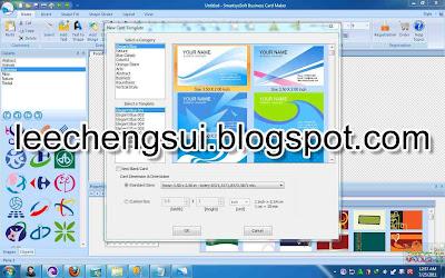 Kapuyuak download smartsyssoft business card maker 230 portable screenshot of smartsyssoft business card maker 230 reheart Gallery