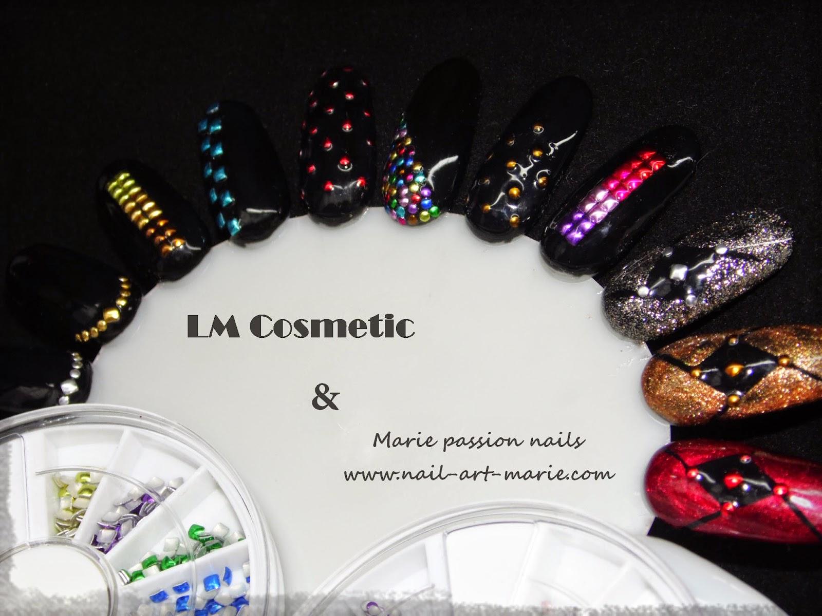 nail art studs metallique1