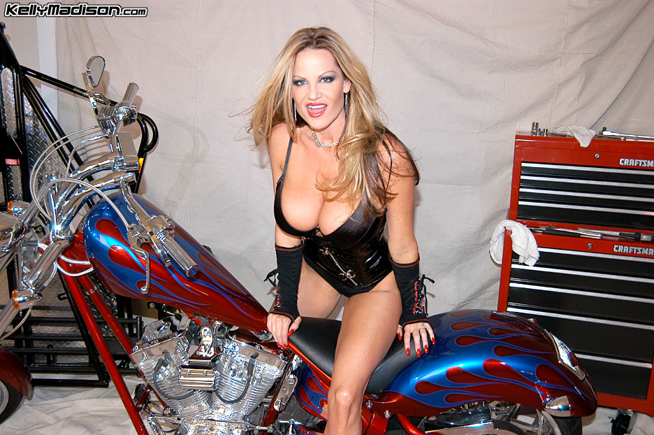 Can suggest kelly madison biker babe