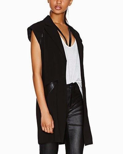 http://www.yoyomelody.com/black-long-line-sleeveless-jacket-with-pu-insert-ja0150012.html