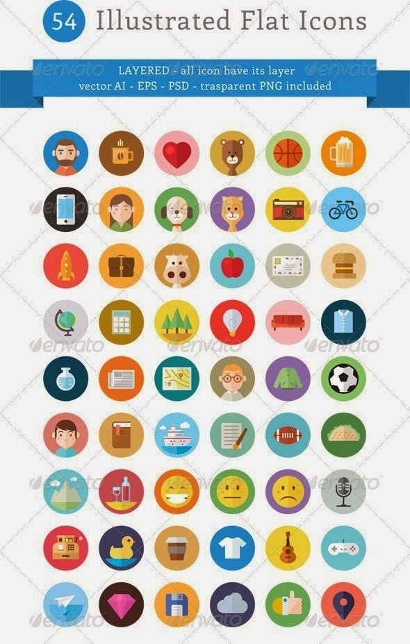 free download flat icon