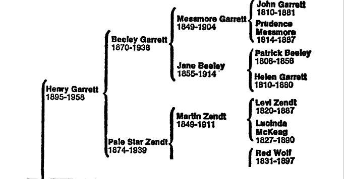 inner toob tele genetics paul garrett s family tree