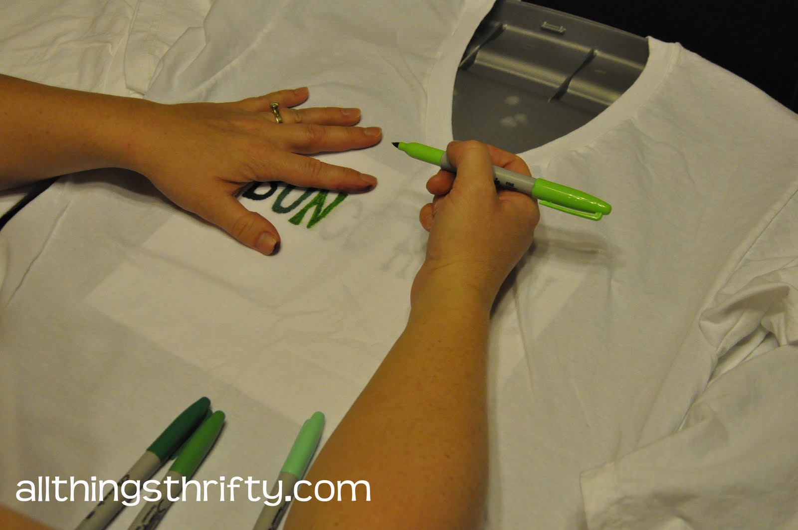 Tutorial How To Tie Dye With Sharpie Markers