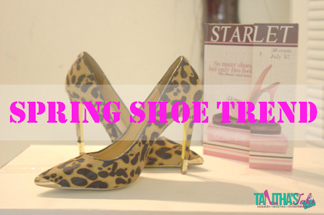 Mules, Cheetah and Reptile and Booties are some of the hottest trends for the spring