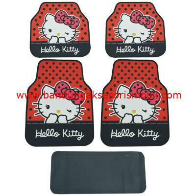 Karpet Kitty Mata Genit Merah Perancis