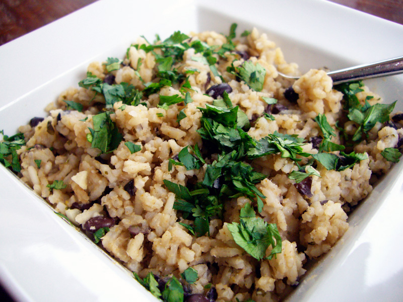 One pot black beans rice costa rican style sweet annas every bite reminds me of costa rica of sunshine and rain buses and beaches and memories of people i love forumfinder Choice Image