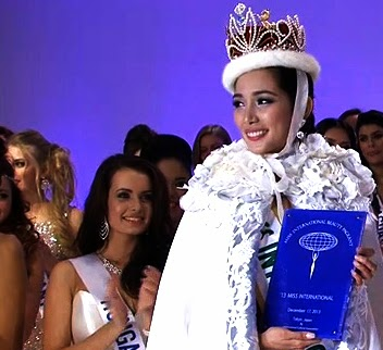 Ms. Philippines Bea Rose Santiago, crowned Miss International 2013