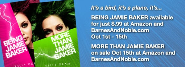 Get Kelly Oram's Being Jamie Baker for 99 Cents!