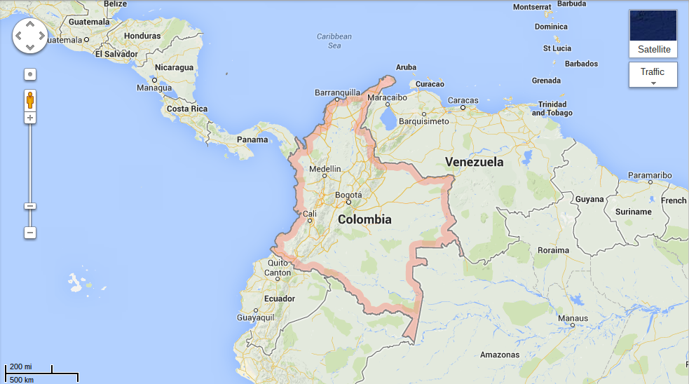 Colombia Geographic Location And Climate Of Colombia - Where is colombia