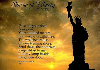 Emma Lazarus most famous poem