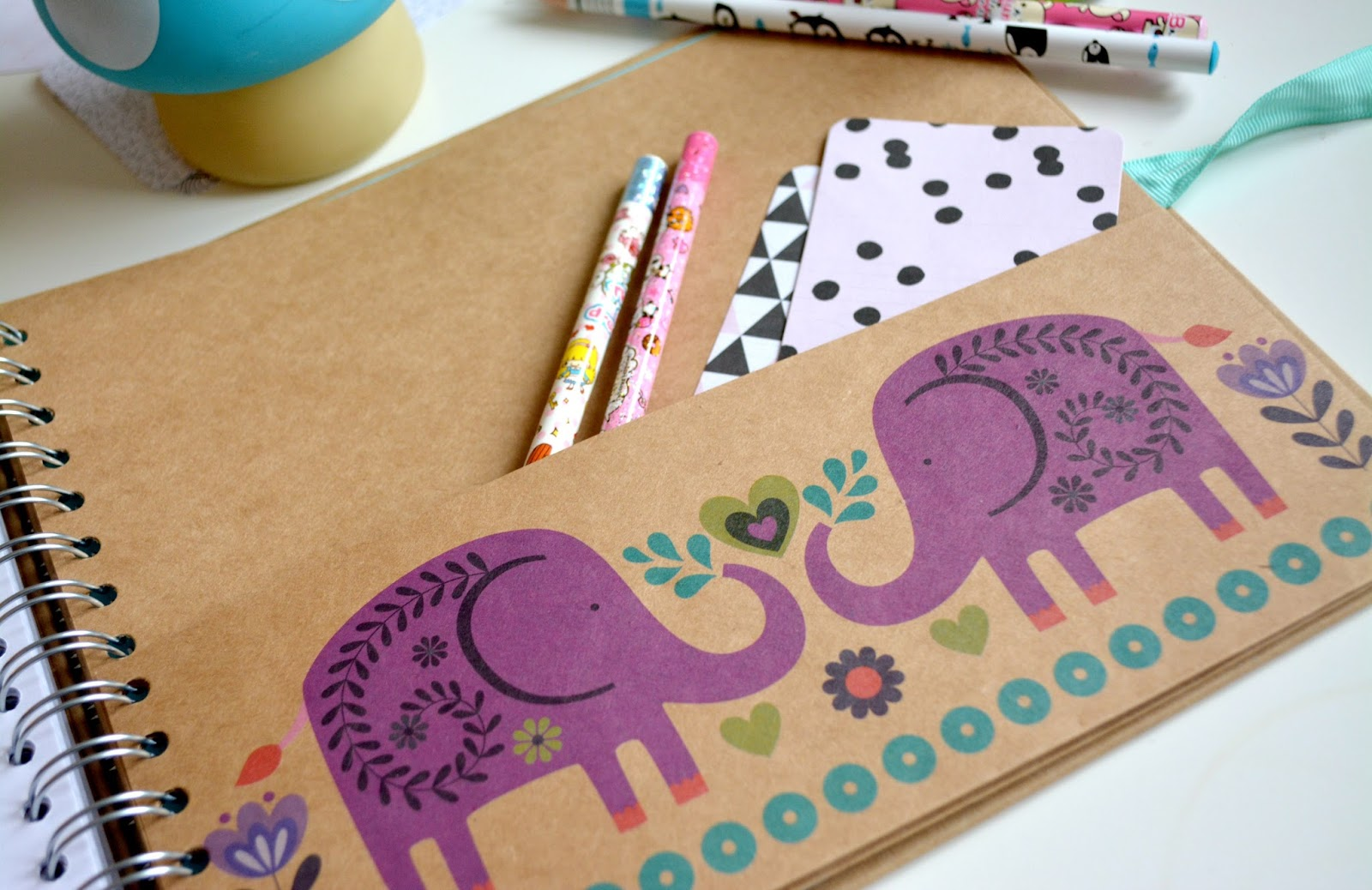 Scrapbook paperchase - The First One Is The Beautiful Elephant Design Print Actually It Is More Like A Scrapbook Rather Than A Notebook As I Am Hoping To Go Travelling More This