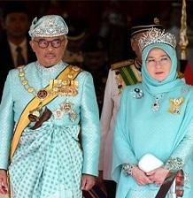 Yang Di-Pertuan Agong & Raja Permaisuri Agong Keenam Belas
