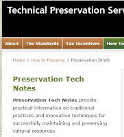 http://www.nps.gov/tps/how-to-preserve/tech-notes.htm