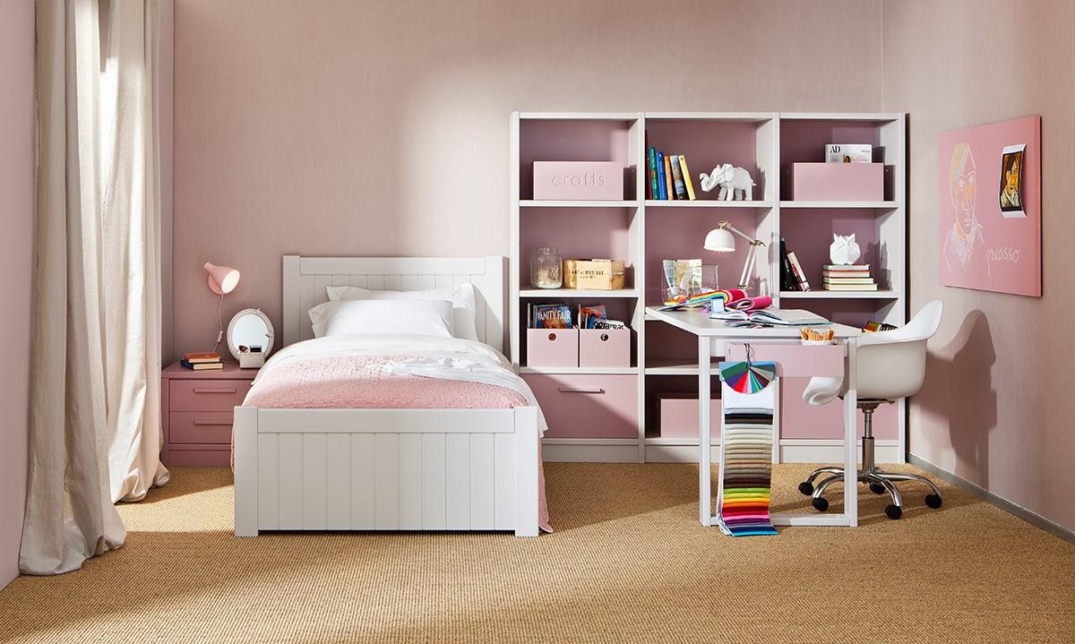 Dormitorio De Nia Dormitorio Color Rosa Para Nia Donde Vemos Con  # Muebles Garabatos