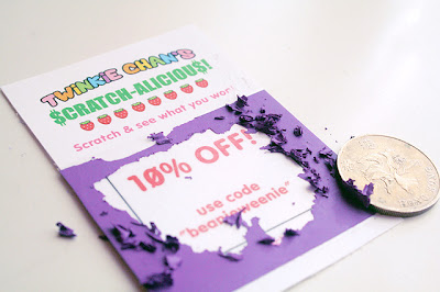 DIY Scratch Off Cards
