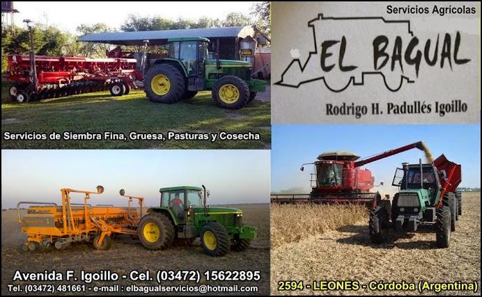 """ESPACIO PUBLICITARIO: SERVICIOS AGRICOLAS """"EL BAGUAL"""""""