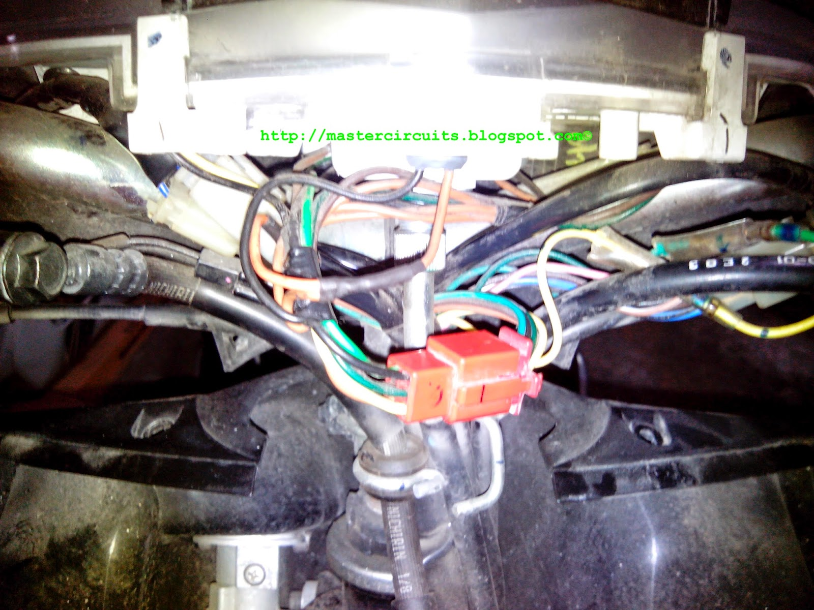 Yamaha Mio Soul Wiring Diagram : Yamaha mio soul led headlight conversion techy at day